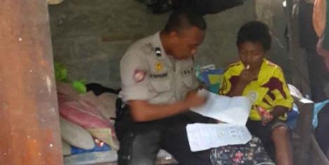 Kisah Taufiq Menjadi Anggota Polisi